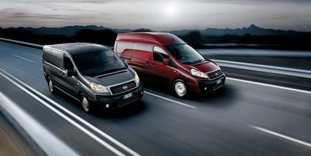 Citroën Jumpy, Peugeot Expert, Fiat Scudo y Toyota Proace