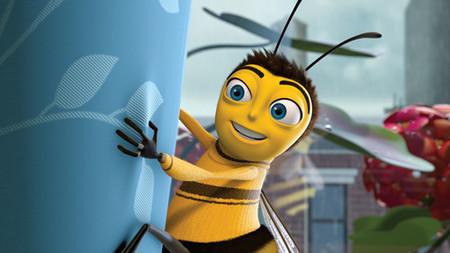 """""""Bee movie"""", bonita película de dibujos animados"""