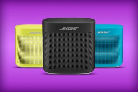 Bocina inalámbrica Bose SoundLink Color II de oferta en Amazon México: resistencia al agua y ocho horas de batería por 2,609 pesos