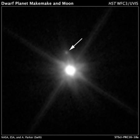 Makemake And Moon