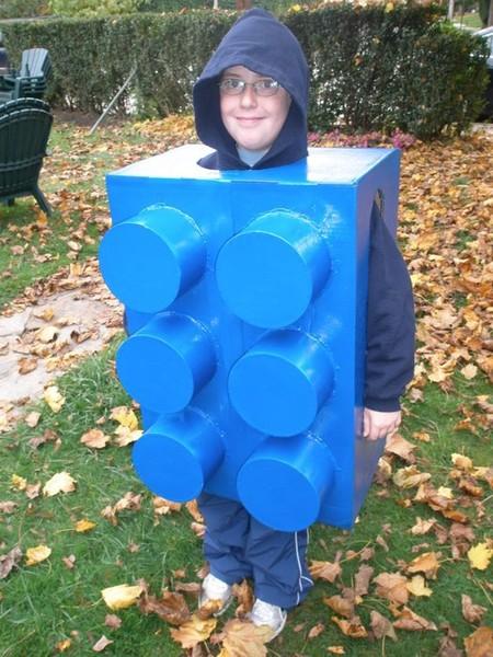 Disfraces Facil Barato Ninos Lego