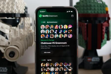 Spotify ya tiene su propio Clubhouse: se llama Spotify GreenRoom y es una app independiente