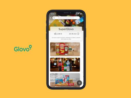 The Glovo app