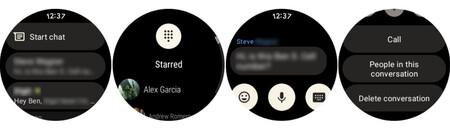 Google Messages Wear OS