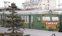 Un tren de Moscú a San Petersburgo con nombre español