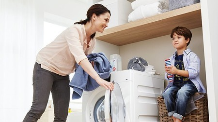 Lavadora Detergente