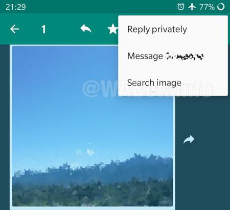Whatsapp Beta Busqueda Inversa Imagenes