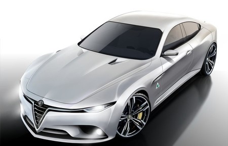 ¿Y si el Alfa Romeo Giulia se pareciese a este diseño?