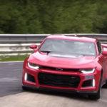 2017 Chevrolet Camaro ZL1: objetivo, volar bajo en Nürburgring Nordschleife