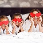 11 bonitas ideas para celebrar San Valentín con tus hijos sin salir de casa