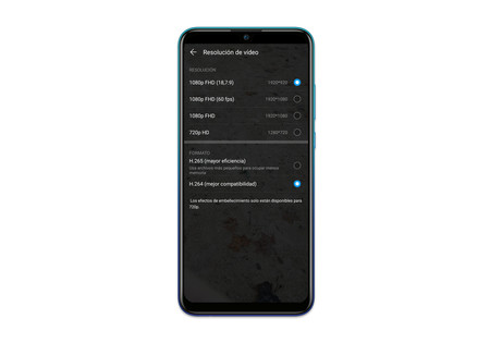Huawei P Smart 2019 Ajustes App