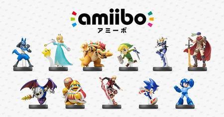 Sonic y Megaman también tendrán sus propias figuras amiibo