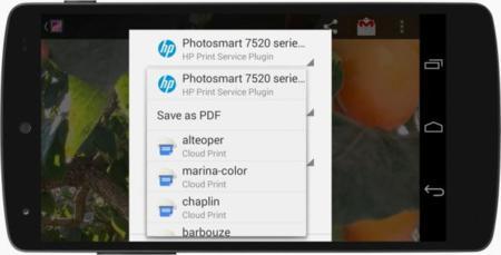 Impresión en Android