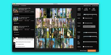 Esta aplicación gratuita resume cualquier película o vídeo en un mosaico de capturas de pantalla