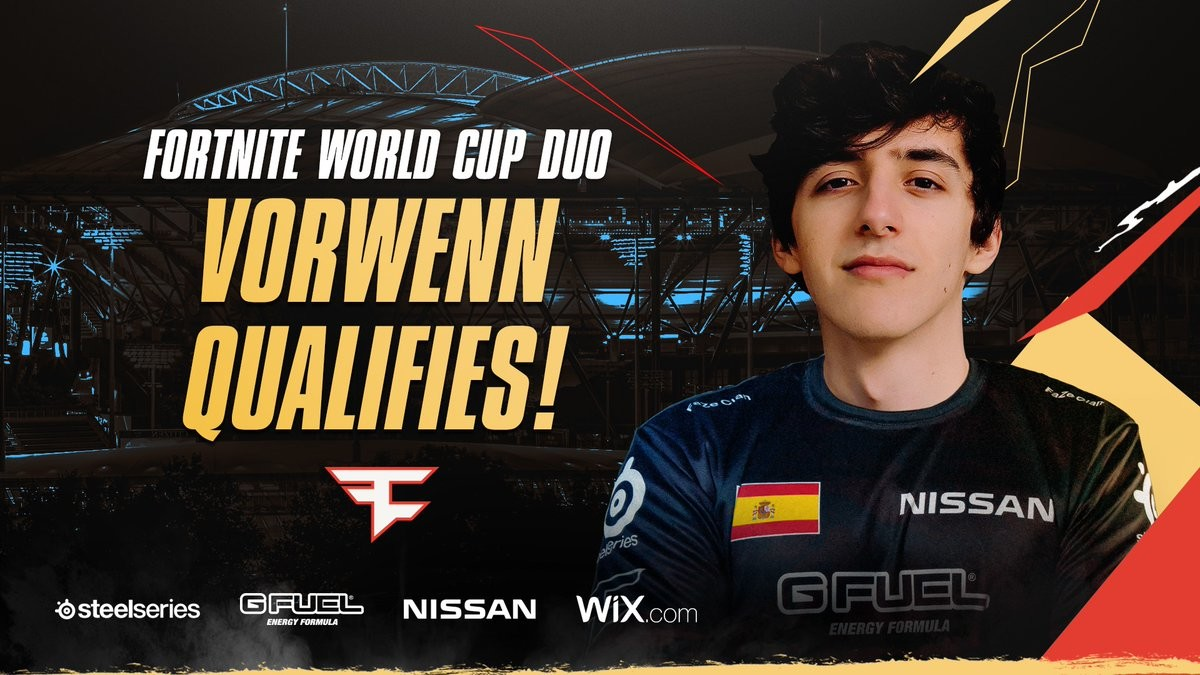 Habrá tres españoles en las finales de Fortnite World Cup: FaZe Vorwenn consigue la clasificación en la última semana
