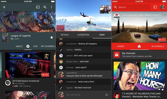 Youtube Gaming Ios