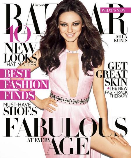Mila Kunis portada Harper´s Bazar