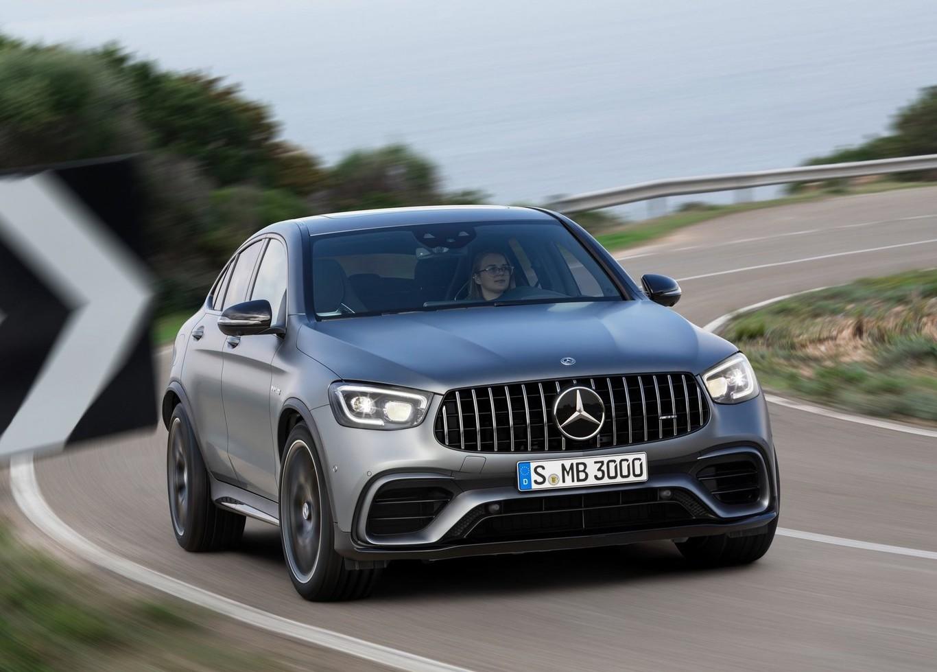 Mercedes-AMG GLC 63 y GLC 63 Coupé 4Matic+ 2020: el SUV rey del Nürburgring se pone al día