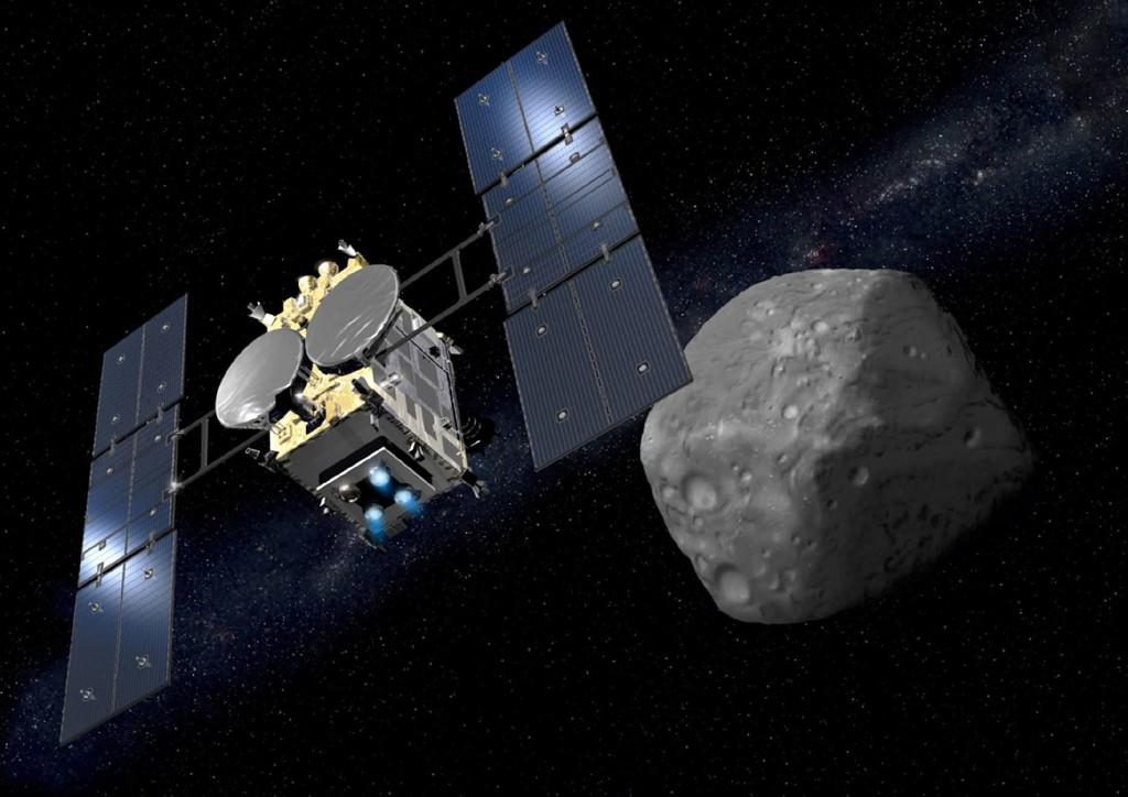 Estas increíbles fotos confirman el éxito: Japón ha conseguido aterrizar sus 2 primeras sondas en el asteroide Ryugu