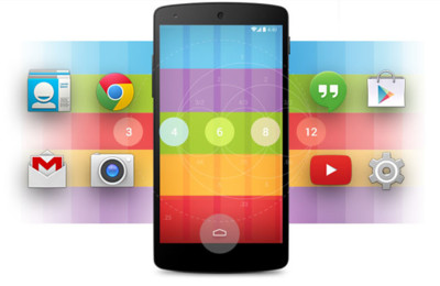 Android 4.4 (KitKat), novedades en la interfaz Holo