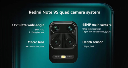 Redmi Note Camaras