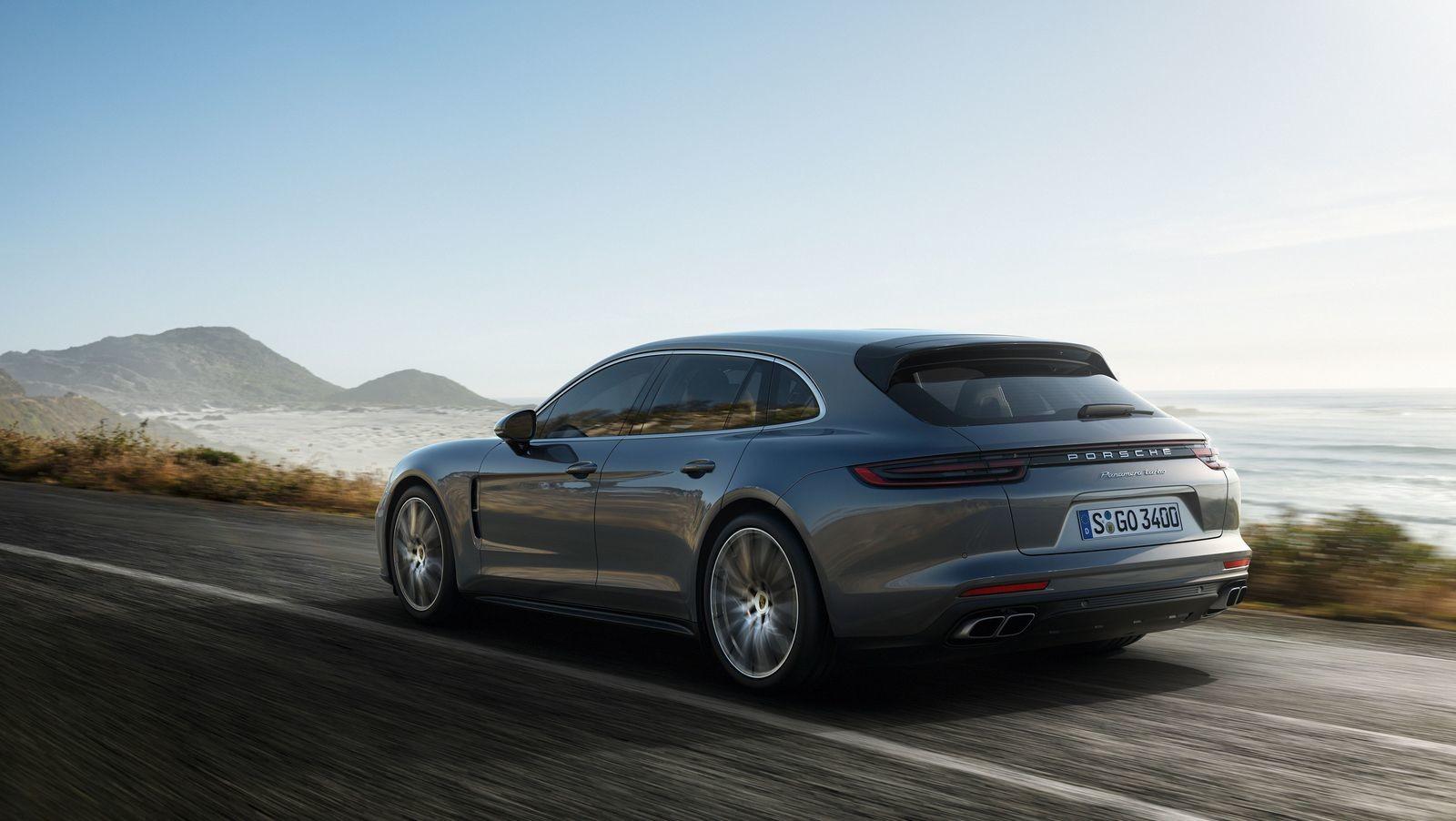 Foto de Porsche Panamera Sport Turismo (9/21)