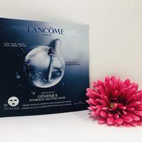 La mascarilla de hydrogel que compro una y otra vez es de Lancôme y está basada en su sérum Advanced Génifique
