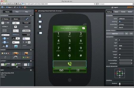 Palm Ares, desarrolla para webOS desde el navegador