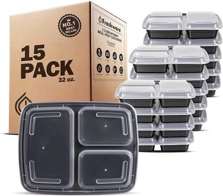 Los mejores 21 artículos para guardar y transportar tu comida y bebidas que encontrarás por menos de 500 pesos en Amazon México