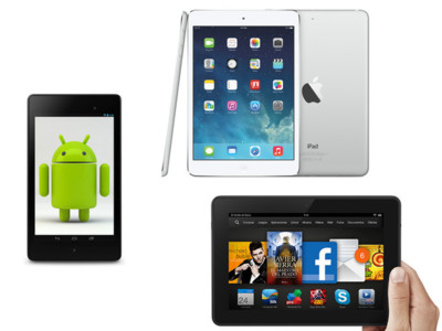 iPad Air y iPad Mini Retina frente a la competencia