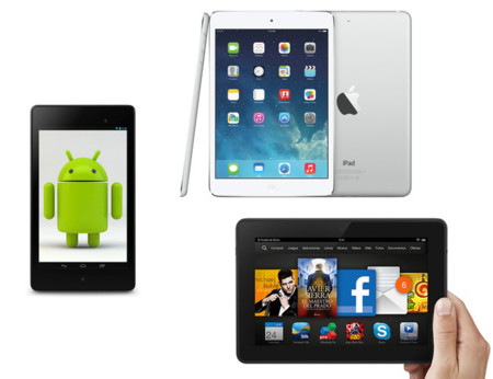 iPad Air y iPad Mini Retina frente a la competencia