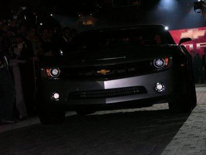 Chevrolet Camaro Concept, presentación y primeras fotos oficiales