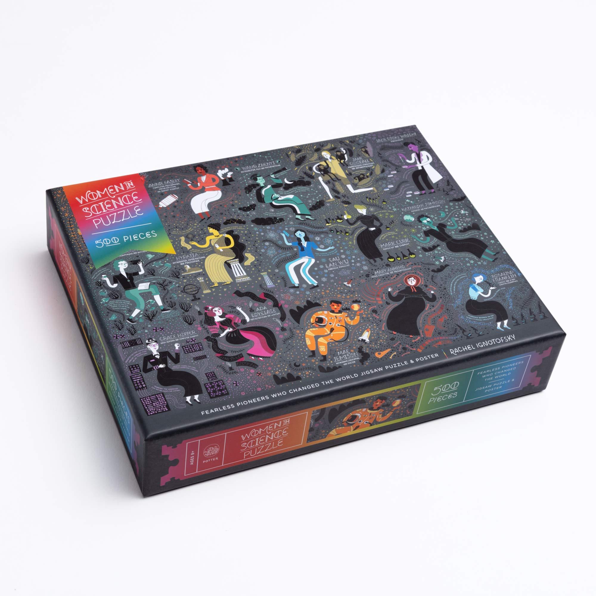 Women in Science Puzzle (Inglés), 500 piezas