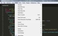 Sublime Text, un sofisticado editor de código multiplataforma