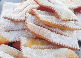 Pastas fritas dulces