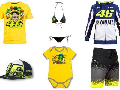 Por si eres un incondicional de Valentino Rossi, aquí tienes la nueva colección VR46