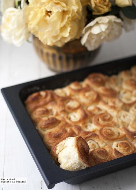 Rollitos caramelizados de brioche o como disfrutar de la mejor de las recetas para una merienda especial