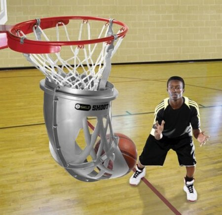 La canasta de baloncesto que te devuelve la pelota