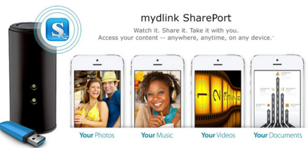 D-Link lanza mydlink SharePort, una nube doméstica para sus routers 11AC