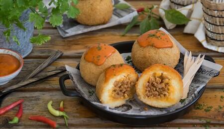 Bolas de patata rellenas: la receta infalible para conquistar a grandes y pequeños