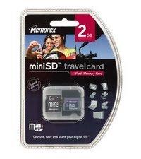 TravelCards, las tarjetas de memoria de Memorex