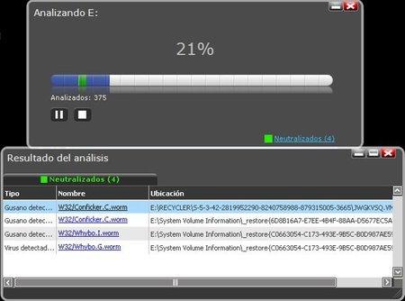 Analizar con el antivirus las memorias USB periódicamente