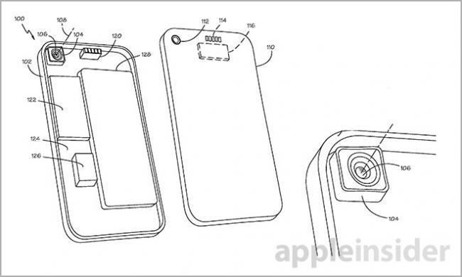 Apple ya tiene dos interesantes patentes para mejorar la cámara del iPhone con objetivos intercambiables