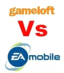 EA Mobile y Gameloft, dos gigantes de los juegos para móvil