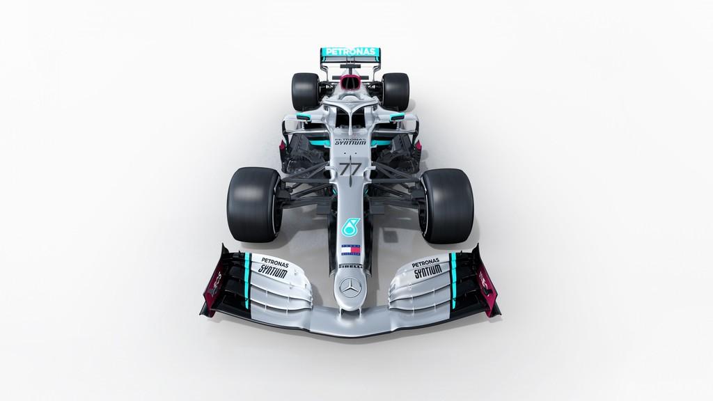 Un Mercedes para batir todos los récords de Michael Schumacher: éste es el nuevo W11 de Lewis Hamilton