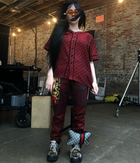 Billie Eilish Gucci Estilo 07