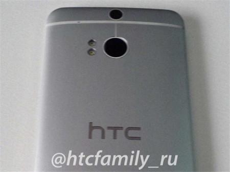 Una imagen del HTC M8 parece confirmar la doble cámara