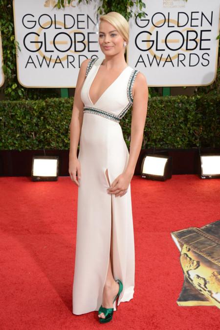 Margot Robbie Globos de Oro 2014
