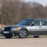 Este rarísimo Mercedes-Benz 500 E convertido a 6.0 AMG es casi único, y podría llegar a costar 120.000 euros en subasta