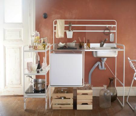 Si tienes un mini piso y quieres equipar una mini cocina, Ikea te propone algunas ideas